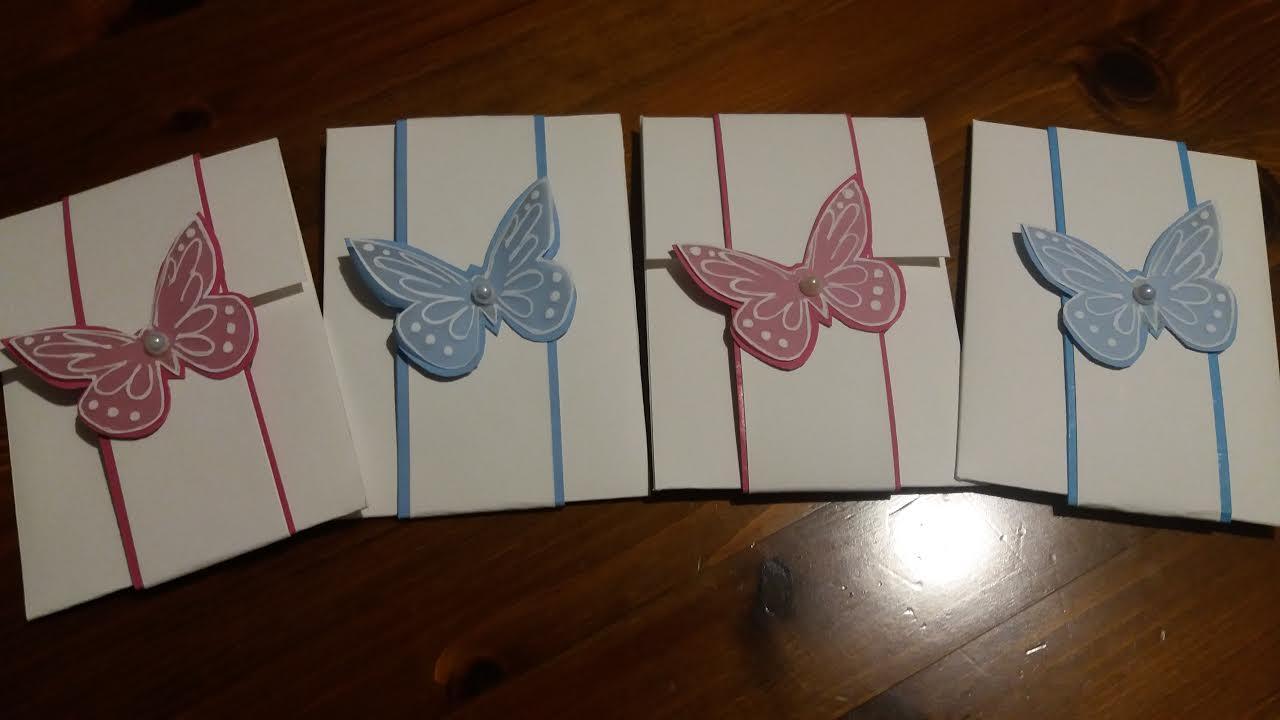 Farfalle Fai Da Te sagome di farfalle per decorare | creaconlacarta