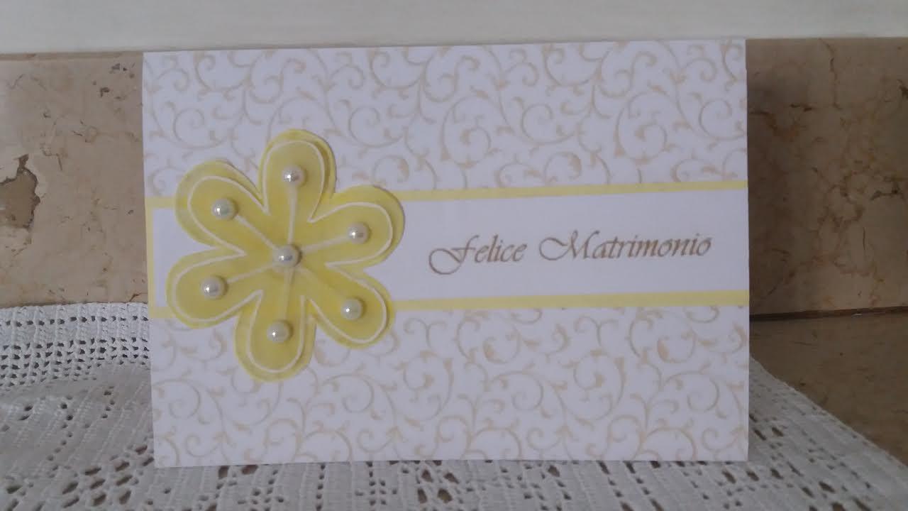 Auguri Matrimonio Unione : Biglietto di auguri per matrimonio fai da te