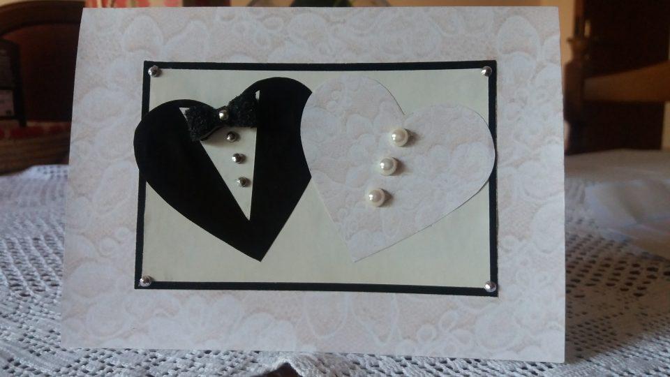 Biglietto Per Matrimonio Con Due Cuori Fai Da Te