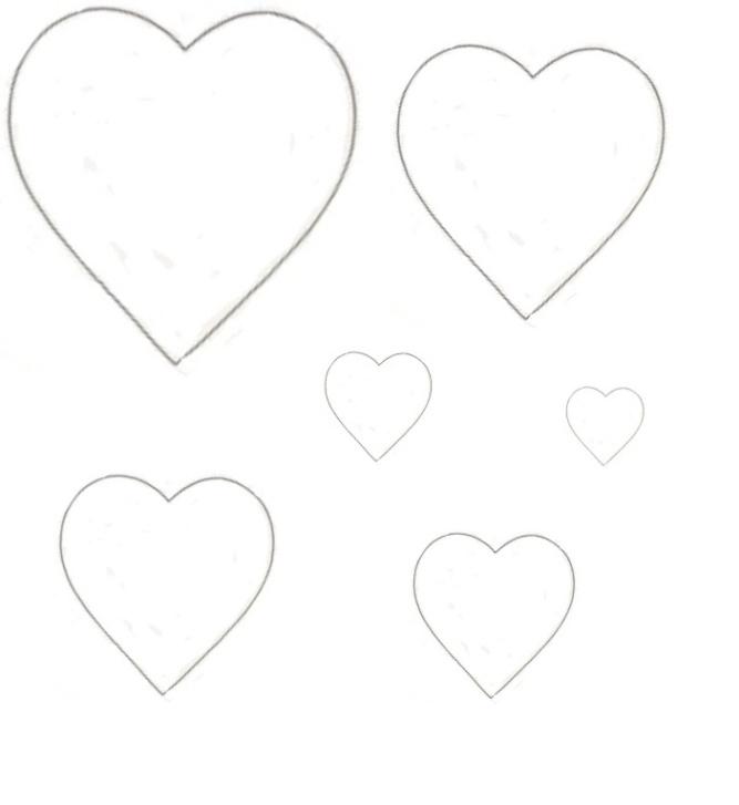 Biglietto di auguri felice matrimonio con cuori for Disegni da colorare dei cuori