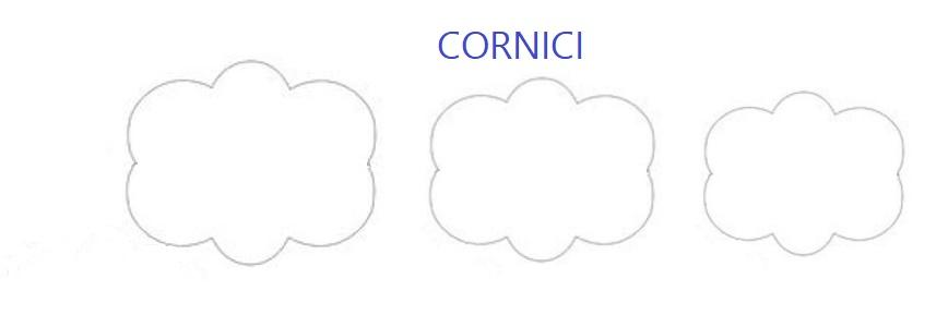 """sagome """"cornici"""""""