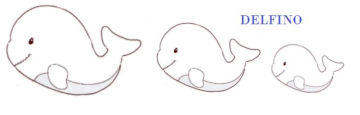 "sagome ""animali"" delfino"