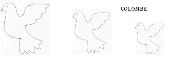 sagome colombe