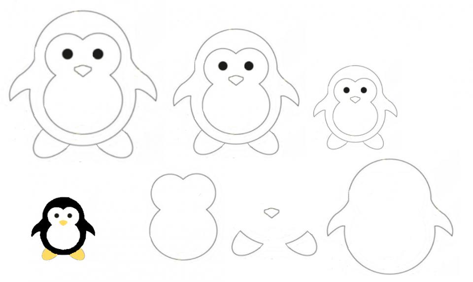 Sagome a forma di animali creaconlacarta for Disegni da colorare con cuori