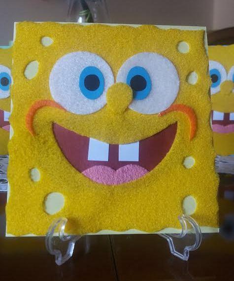 biglietto di auguri spongebob
