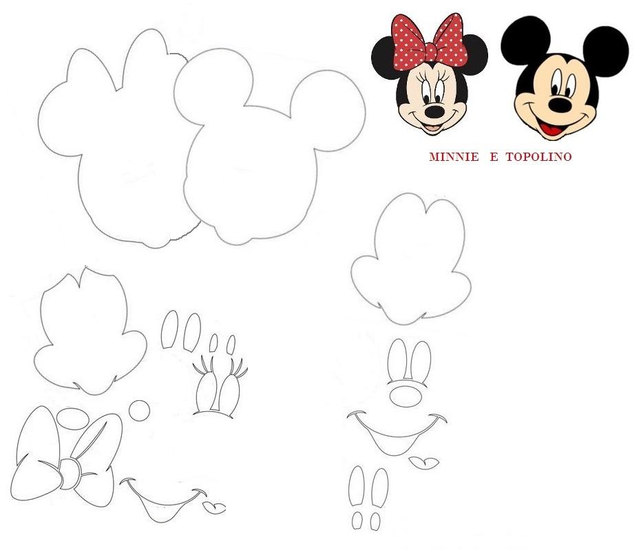 Sagome di personaggi dei cartoni animati creaconlacarta