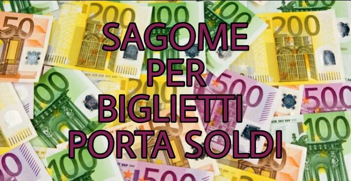 Sagome Per Biglietti Porta Soldi Creaconlacarta
