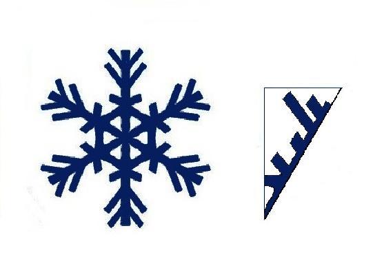 Fiocchi Di Neve E Centrini Di Carta