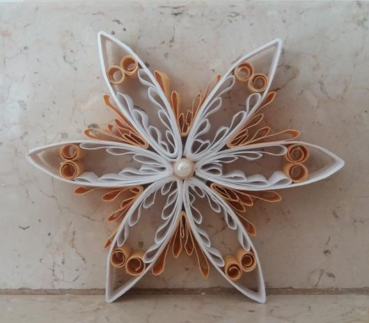 stella per decorare l'albero di Natale
