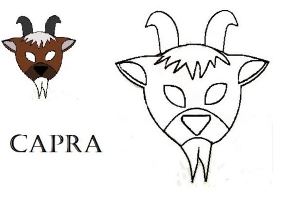 Maschere degli animali della fattoria creaconlacarta for Fattoria immagini da colorare