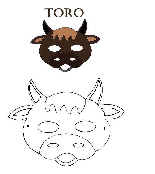 Maschere degli animali della fattoria