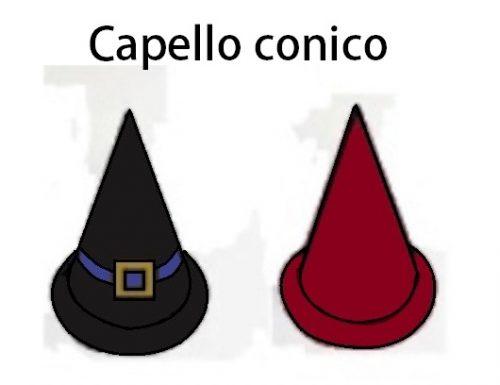 CAPPELLI CONICI IN CARTONCINO COLORATO