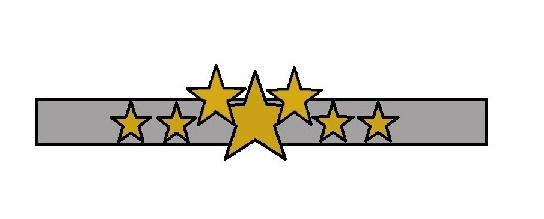 coroncina con le stelle