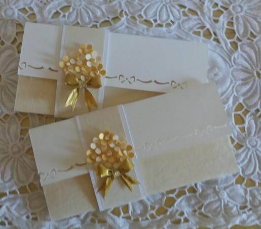 cardporta soldi per matrimonio con bouquet