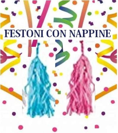 Festoni Con Nappine Di Carta Velina Fai Da Te