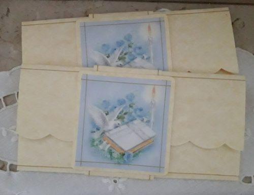 CARD PORTA SOLDI PER PRIMA COMUNIONE E CRESIMA