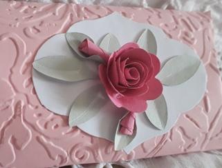 scatoline fai da te con rosa in 3D