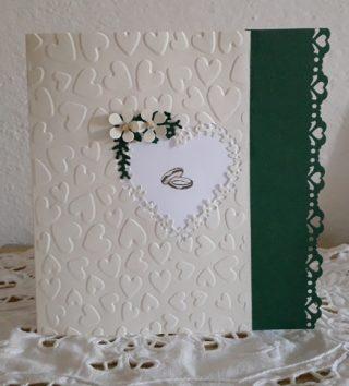 Card d'auguri matrimonio