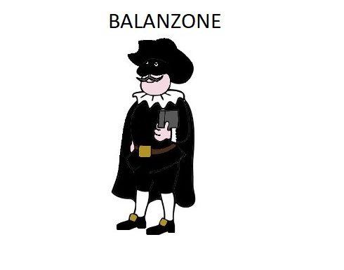 MASCHERA TRADIZIONALE DI BALANZONE