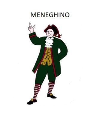 MASCHERA TRADIZIONALE DI MENEGHINO