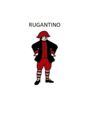maschera tradizionale di Rugantino